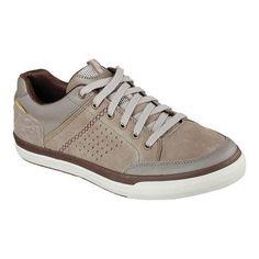 Men's Skechers Relaxed Fit Diamondback Rendol Sneaker (Brown) (US Men's M (Regular))