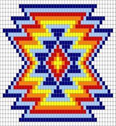 Newest Images knitting charts geometric Popular Trendy Knitting Charts Geometric , Tr Tapestry Crochet Patterns, Bead Loom Patterns, Crochet Stitches Patterns, Crochet Chart, Cross Stitch Patterns, Knitting Patterns, Embroidery Patterns, Beading Patterns, Beading Ideas