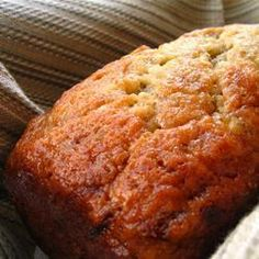 Easy Peasy Banana Bread @ allrecipes.com.au This was super easy and Yummo. I only used 1/2 cup sugar. I drizzled honey over the top in the last 10mins of cooking. YUM!