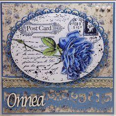 Sininen ruusu by minna0402, via Flickr
