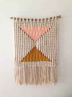 macramé weaving by Sally England
