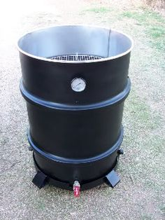 This chick knows her BBQ. Here's a simple DIY on how to make your own BBQ Smoker out of a 55gal drum barrel.