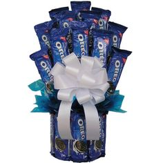 Oreo Lovers Candy Bouquet Large Size for students living in dorm rooms or apartments at college or boarding school, on campus or off.