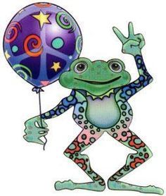 Peace Frog ☮️