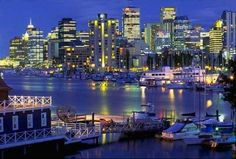 Vancouver B.C. Been there love it and can't wait to come back!