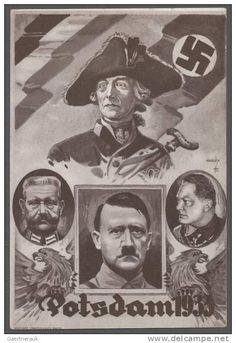 "1933, ""Potsdam 1933"" seltene Propagandakarte ungebraucht  #15286   , ""Potsdam 1933"" seltene Propagandakarte"