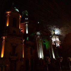 #nofilter#Lviv#Ukraine#night#city#moon#lategram