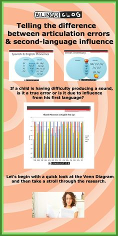 Telling the difference between articulation errors and second-language influence #bilingual #slp