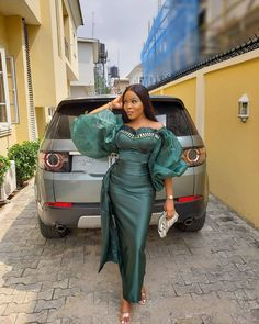 Nigerian Lace Styles, Aso Ebi Lace Styles, Lace Gown Styles, Nigerian Dress, African Party Dresses, African Lace Dresses, Latest African Fashion Dresses, Lace Evening Dresses, African Print Clothing