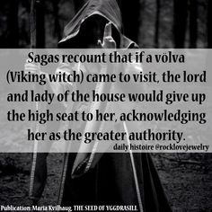 Daily Histoire — Viking Witches - Seasonal Inspiration (though the. Norse Pagan, Old Norse, Norse Mythology, Wiccan, Pagan Witchcraft, Kitchen Witch, Viking Facts, Viking Myths, Saga