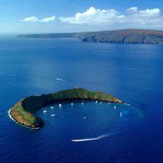 Molokini Crater, Hawaii, USA
