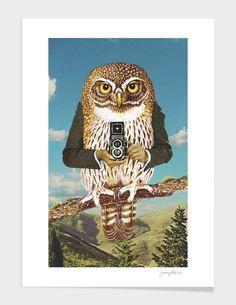 "Curioos.com   ""Just say cheese !"" by Sammy Slabbinck  - Gallery Quality Art Print"