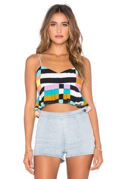 MARA HOFFMAN Cropped Top. #marahoffman #cloth #dress #top #shirt