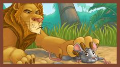 The Lion and the Mouse (focus on vocabulary). I used this and then taught a structured lesson on how to write a narrative using a 4 paragraph formula.