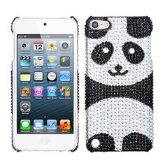 Playful Panda Rhinestone Protector Cover Case Apple iPod Touch Generation in Cell Phones & Accessories, Cell Phone Accessories, Cases, Covers & Skins Ipod 5 Cases, Ipod Touch Cases, Cool Iphone Cases, Cool Cases, Ipod Touch 5th Generation, Bling, Apple, Panda, Technology