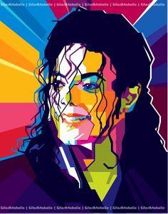 Mickhael Jackson pop art by gilar666