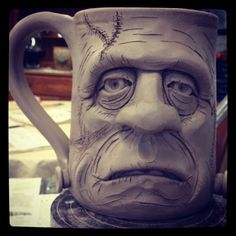 ceramic face mugs mugs - Google Search