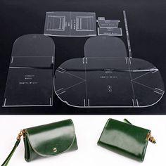 Wuta Mini Lady Clutch Handbag Leather Template Acrylic Pattern Craft Tool 958 | Crafts, Leathercrafts, Leathercraft Tools | eBay!