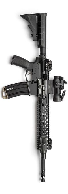 An awesome looking BCM Carbine with Centurion C4 rail. Photo by Stickman.