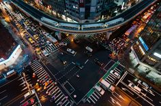 Crossroads of traffic @ Taipei, Taiwan