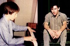 Reznor at ages 14 and 21 / Photo courtesy Trent Reznor