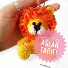 Amigurumi For Beginners, Amigurumi Tutorial, Amigurumi Toys, Winnie The Pooh, Free Pattern, Giraffe, Bunny, Geek Stuff, Crochet Earrings
