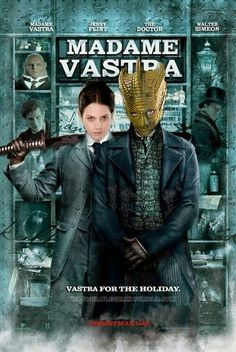 I WISH they had their own show! Love Madame Vastra and Jenny!