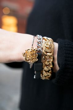 The perfect sweet & tough stacked wrist. #marcbymarcjacobs
