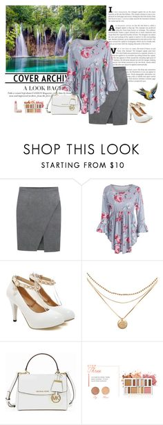 """KČ"" by lifestyle-79 ❤ liked on Polyvore featuring Michael Kors, BHCosmetics and Lipstick Queen"