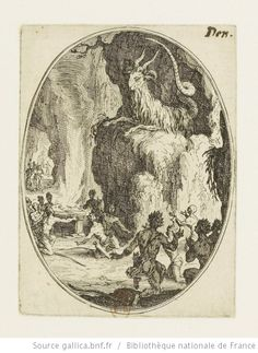 [Les sacrifices]. [2], [Le culte du démon] : [estampe] / [Jacques Callot] - 1