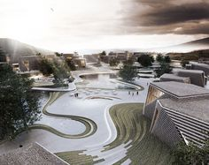 URBAN ARCHITECTURE / MASTERPLAN / COMMERCIAL / 2012 / XIANGYANG / CHINA /PENDA
