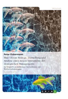 Blue Ocean Strategy. Darstellung und Analyse eines neuen Instruments des strategischen Managements. GRIN: http://grin.to/HObLw Amazon: http://grin.to/lISNs