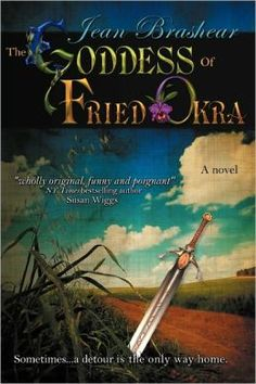 """Nook: Grief. Hope. Love. Sword fights. And the crisp golden glory of fried okra. Join Eudora """"Pea"""" O'Brien on her funny, poignant journey seeking the reincarnated soul of her sister…and the family of misfits she finds along the way: starving kitten, pregnant teen & sexy con man trying to go straight. With two unlikely gurus, a grandmotherly café owner and a ferocious gun dealer named Glory, Pea struggles to learn swordplay and the art of perfect fried okra in the search for her own lost…"""