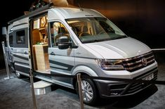 Knaus turns the VW Crafter van into a new type of CUV, a caravanning utility vehicle Vw T, Volkswagen, Caravan Salon, Vw Crafter, Van Car, Campervan, Van Life, Cars And Motorcycles, Box