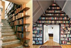 BOOKS - bookshelves - SPACES AND PLACES