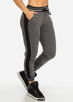 Active Casual Jogger Pants (Charcoal)