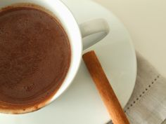 Mesa Corrida - Chocolate quente com flor de sal / Hot chocolate with fleur de sel