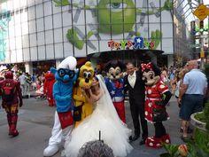 Disney bruiloft in New York