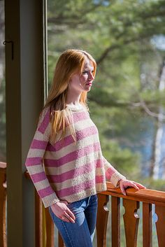 Ravelry: Adeline Pullover pattern by Isabell Kraemer