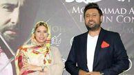 بازیگر زن معروف در کنسرت محمد علیزاده    عکس