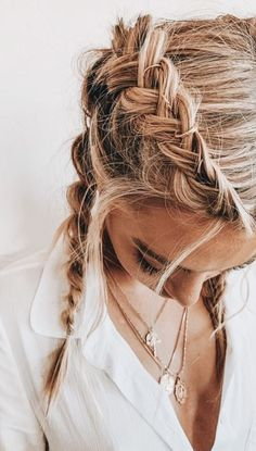 Boho french braids add an effortless style  to any outfit