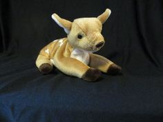 Ty Beanie Baby 1998 Whisper the doe/baby deer, Bambi, Beenie Babies, Ty Beanie, Baby Deer, Bambi, Whisper, Dinosaur Stuffed Animal, Animals, Hush Hush, Animales