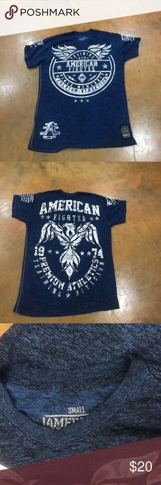 American Fighter Shirt Like new Buckle Shirts