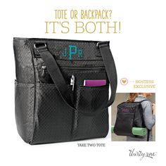 NEW PRODUCT IN FALL 2015 - Take Two Tote is ONLY AVAILABLE TO  HOSTESSES! http://www.mythirtyone.com/hjacobs
