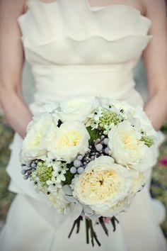 Crumb catcher, ruffled wedding dress