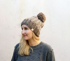 chunky knitted brown hat.jpg