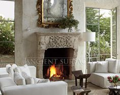 Innovative Fireplace Surrounds Blur the Line Between Art and Architecture