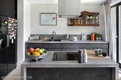 Kuchnia z wyspą w stylu eklektycznym Decor, Interior, Kitchen Cabinets, Modern Kitchen, Home Decor, Best Kitchen Designs, Interior Design, Eclectic Modern, Kitchen Design