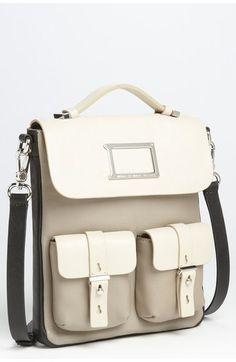 Marc by Marc Jacobs Tablet Messenger Bag   Architect's Fashion