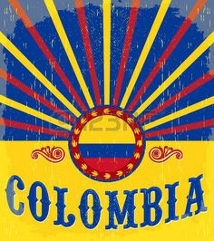 Visit Colombia, Colombia Travel, Money Laundering, Chicago Cubs Logo, Travel Posters, Pop Art, Stock Photos, America, Lettering